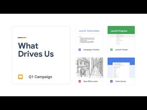 G Suite's Google Drive: A safe place for all your work files