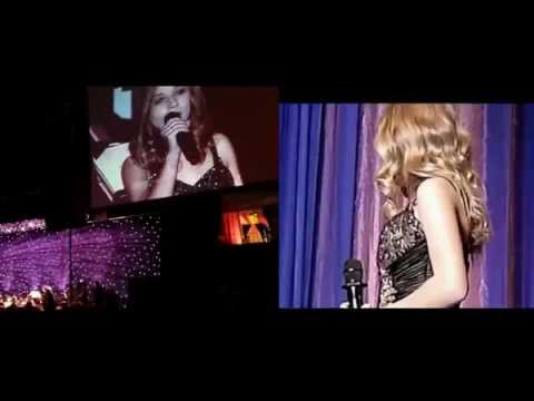 Jackie Evancho - My Heart Will Go On - Mix of two live performances