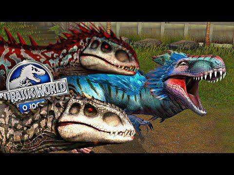 Em Busca do Hibrido [Yudon] Vs 2 Indominus + Evolução - Jurassic World o Jogo [The Game] #4