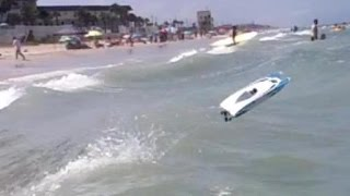 RC Boat Open Ocean Wave Bash - Daytona Beach, Florida