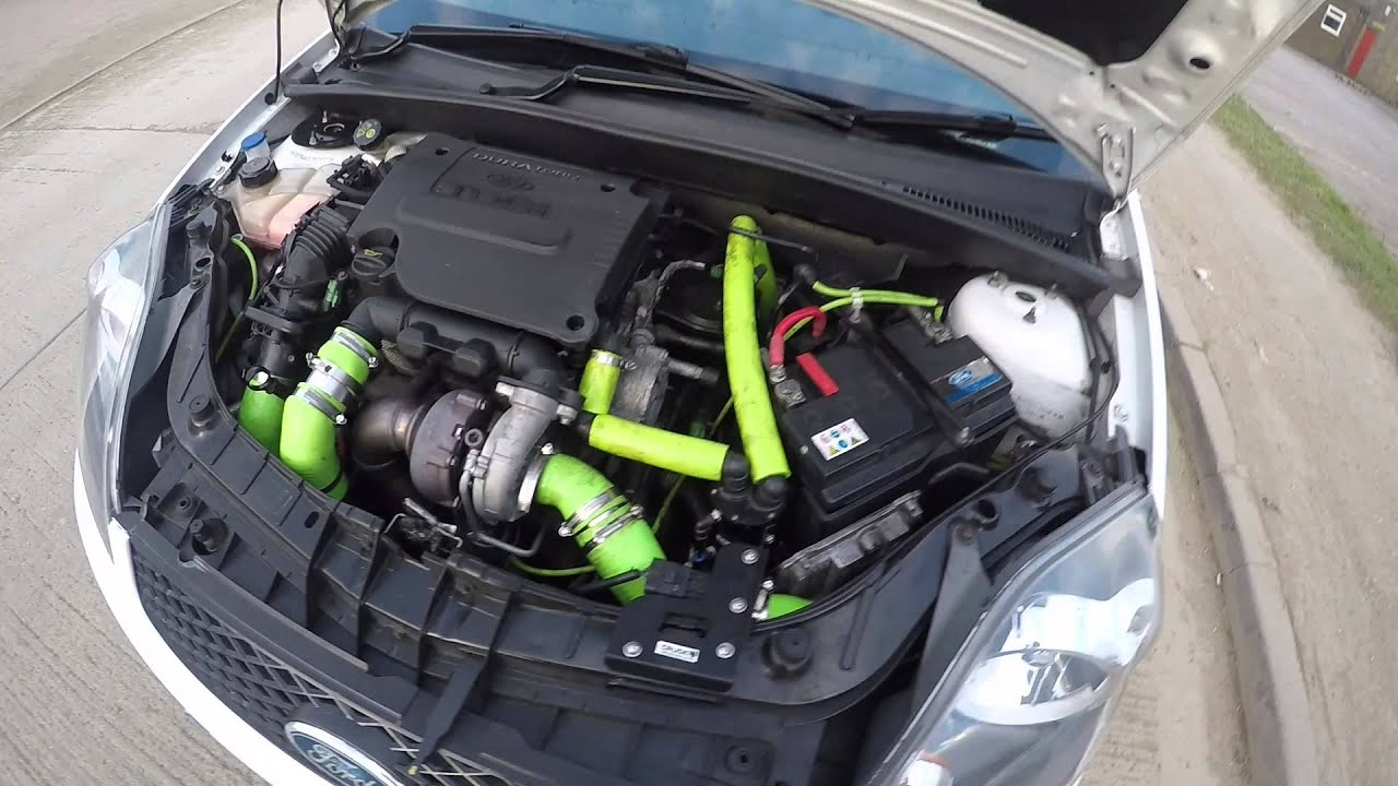 Fiesta Mk6 1 6tdci Zs 155 5bhp 233lb Ft Induction Intake