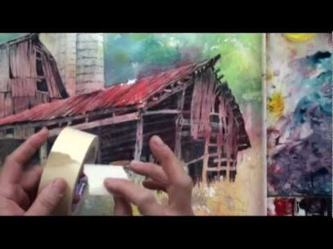 Preview | Watercolor with Lian Quan Zhen: Barn