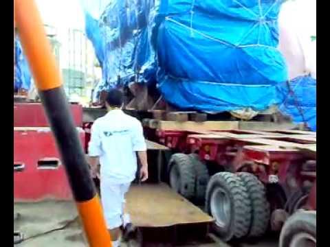 Vận chuyển máy phát điện 200 tấn