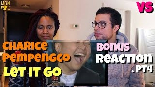 Charice Pempengco - Let It Go (Frozen Soundtrack) - VS - Bonus Reaction Pt.4