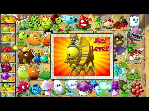Every Plant Power-Up! vs Ancient Egypt Zomboss Plants vs Zombies 2