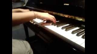 Take Care Of My Girlfriend (Say No) - B2ST on piano