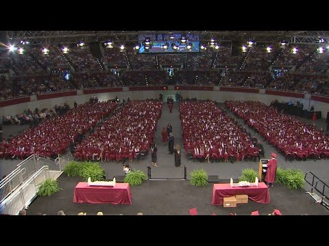 Plano Senior High School Full Graduation Ceremony 2016