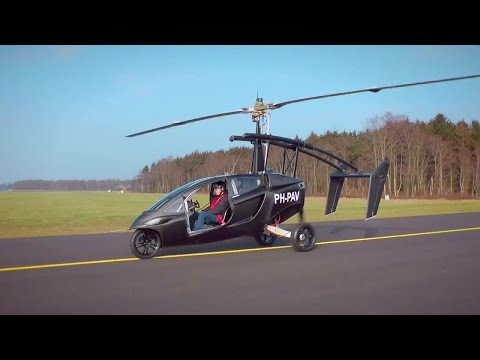 PAL-V One Flying Car Flight Testing [720p]