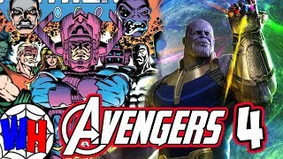 Avengers 4: Could Galactus and Other Cosmic Entities Show Up? | Webhead