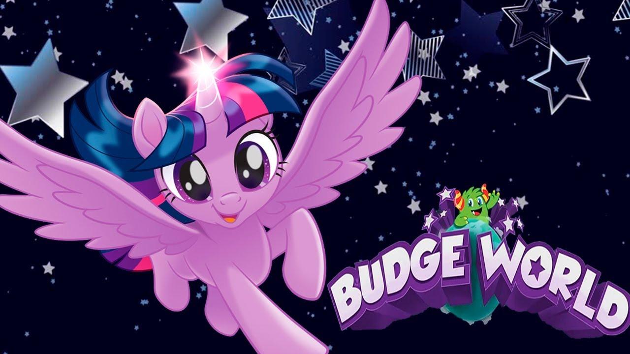 Мои Маленькие Пони в Сказочном Мире Баджеров.Игры с Май Литл Пони.My Little Pony in Budge World
