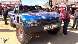 AN UP CLOSE LOOK AT SOME AMAZING TROPHY TRUCKS
