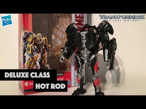 Transformers: The Last Knight Autobots Unite Deluxe Class Hot Rod Review