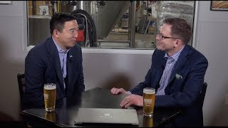 """The Insiders - Beers with Andrew Yang"""