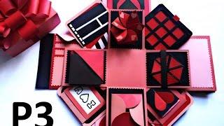 Love box - Hướng dẫn làm hộp quà tình yêu - phần 3 - NGOC VANG