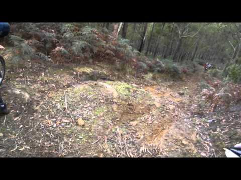Trail riding in Tasmania Gasgas ec300, XR500, CR500.MP4