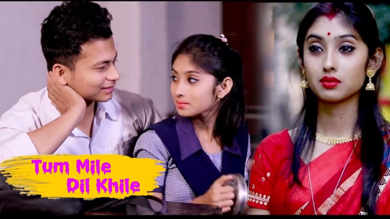 Tu Mile Dil Khile - Raj Barman || Ft. priyasmita and Ripon || school love story