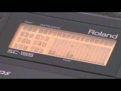"""Roland SC-155 """"8-T bit"""" Superteclados.com"""