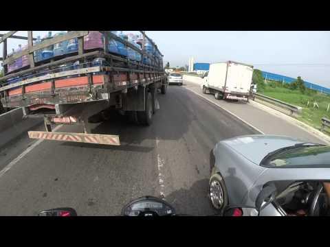 ACIDENTE!! NeWLiFe RJ HORNET CHORA AO VER MOTOCICLISTA MORTO NA RIO X TERESOPOLIS