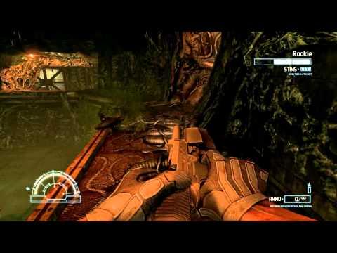 Aliens vs. Predator (2010) PC: Marine - Mission 2: Refinery - Gameplay