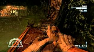 Aliens vs. Predator (2010) PC: Marine - Mission 2: Refinery - Gameplay