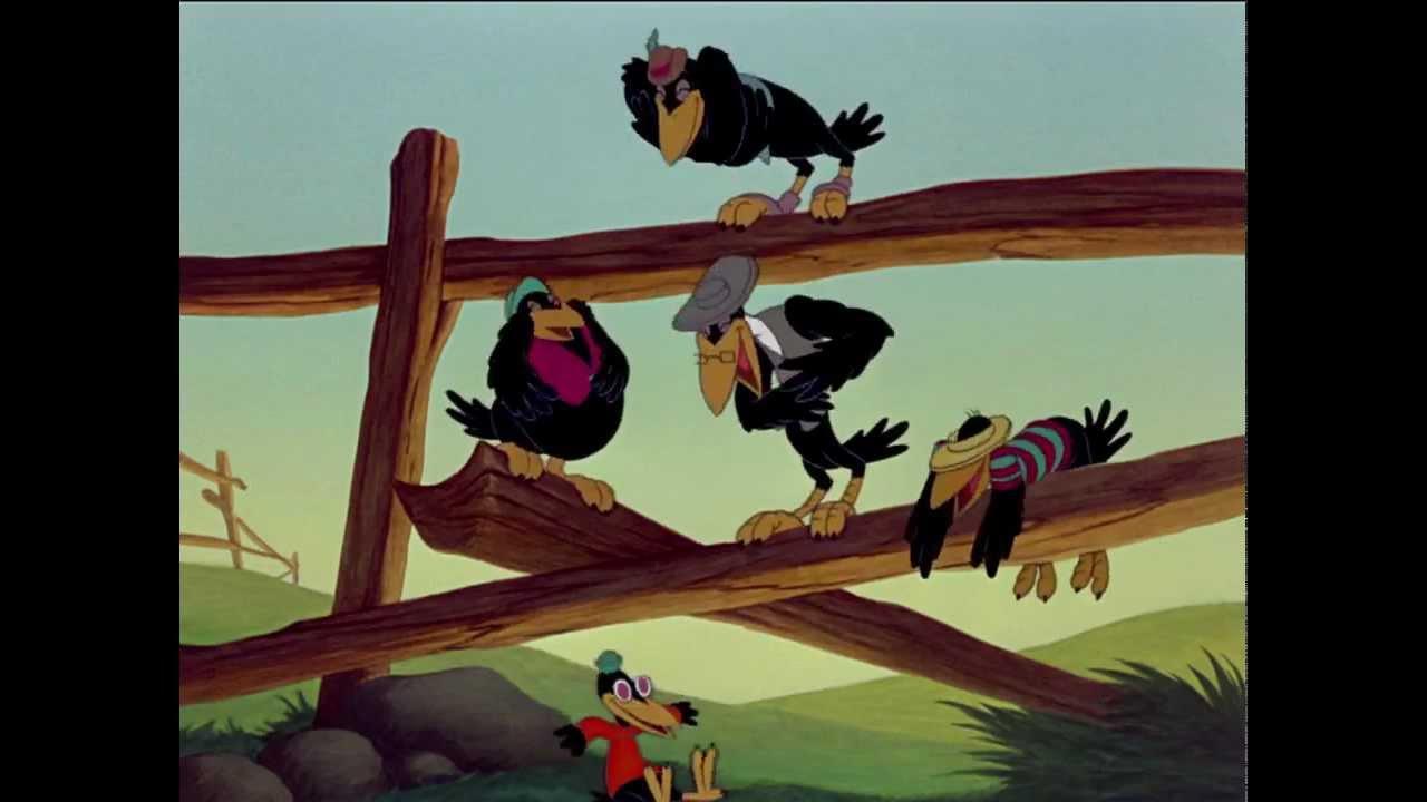 dumbo crow scene
