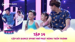 Biệt tài tí hon | tập 14: Cười rần rần khi Trấn Thành, Trịnh Thăng Bình bị cặp dancer nhí phạt nhảy