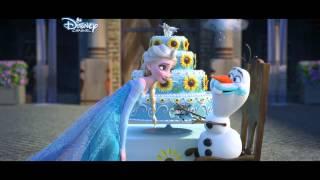 Anna ve Elsa ile büyük kutlamaya hazır mısın?