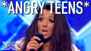 ANGRY TEEN AUDITIONS...Don
