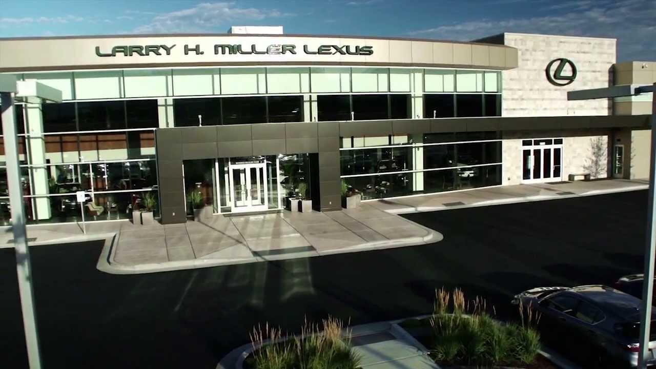 Larry H Miller Lexus >> Larry H. Miller Lexus Murray New Dealership - YouTube