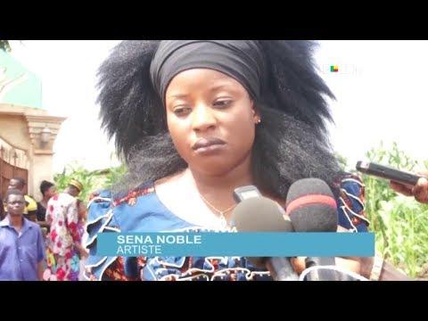Décès de Dahouè Doto : Sèna Noble conduit une délégation d'artistes au domicile du défunt