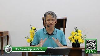 Emergindo do lamaçal - Salmos 69.13-14 - Quinta-feira 25-03-2021 - Rev. Anatote Lopes