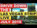 Drive Down The Las Vegas Strip Live July 2019