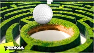THE GOLF MAZE! (Golf It!)