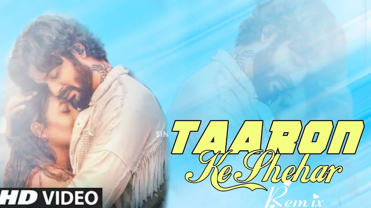 Taaron Ke Shahar -Jubin Nautiyal (Remix) |Dj Ankit |Neha Kakkar| Jaani |Amix Visuals