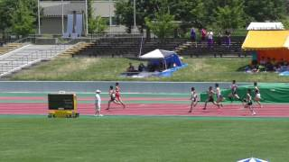 2017.7.8 第56回 秋田県陸上競技選手権 男子800m 予選1組