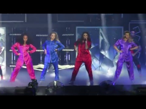 Little Mix - Intro & Grown - Get Weird Tour - at the BIC, Bournemouth on 15/03/2016