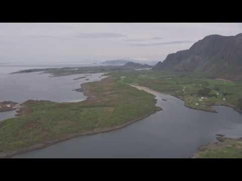 Brønnøysund, Ylvingen, Vega - Flying Over Norway