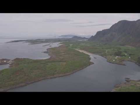 Brønnøysund, Ylvingen, Vega - Flying Over Norway