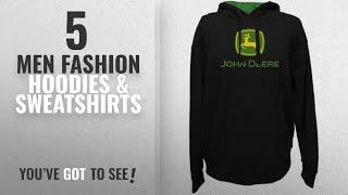John Deere Fashion Hoodies & Sweatshirts [ Winter 2018 ]: John Deere Hooded Logo Sweatshirt Black -