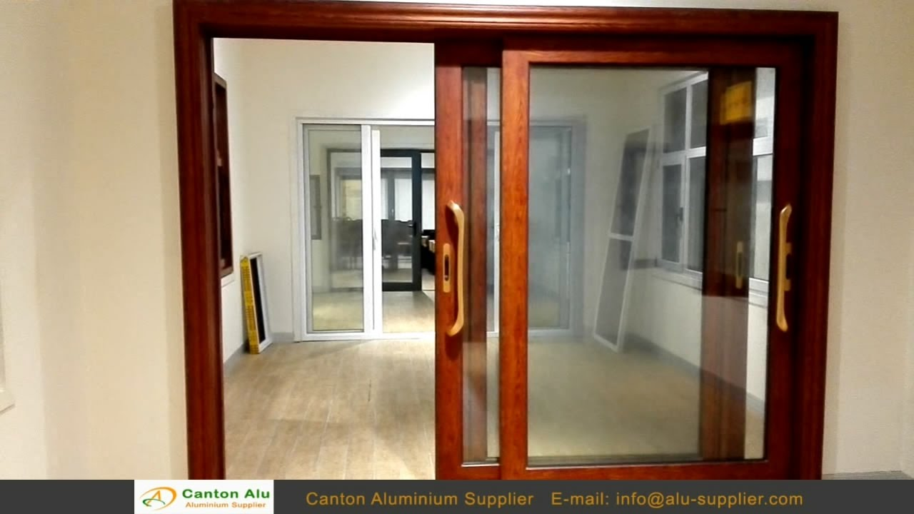 High Quality Aluminium Sliding Door Manufacturer Youtube