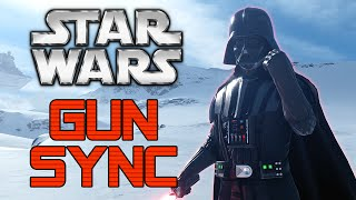 ♪Darth Vader♪ ~ Star Wars Gun Sync ~ (Star Wars Battlefront Beta Gun Sync)