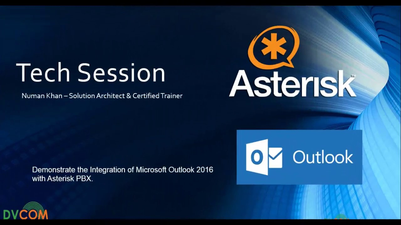 MS Outlook 2016 Integrated with Asterisk - Click to Dial