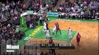 Dwyane Wade and LeBron James Full Combined Highlights at Celtics - Game-Winner for LBJ