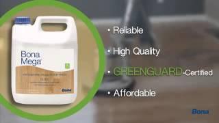 видео Экологически чистый двухкомпонентный водный лак основе Bona Traffic