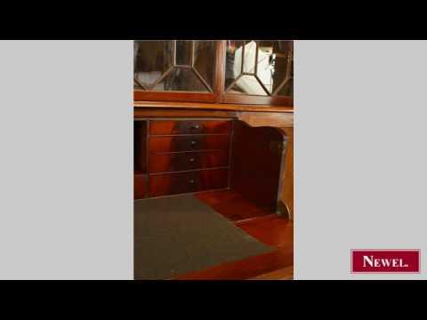 Antique English Sheraton style (18/19th Cent) mahogany