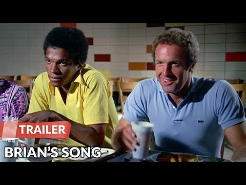 Brian's Song 1971 Trailer   James Caan   Billy Dee Williams
