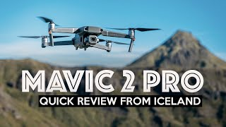MAVIC 2 PRO REVIEW - Flying In Iceland