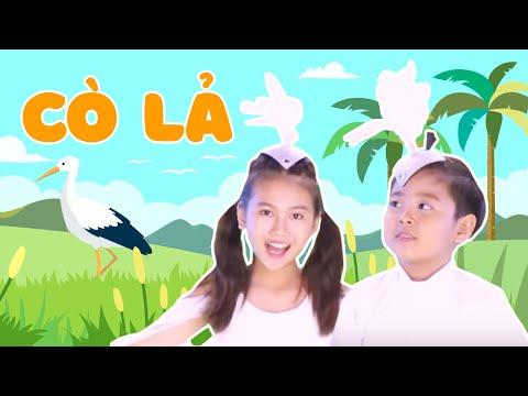 Mầm Chồi Lá - Cò Lả   Nhạc thiếu nhi hay cho bé   Vietnamese Kids Song