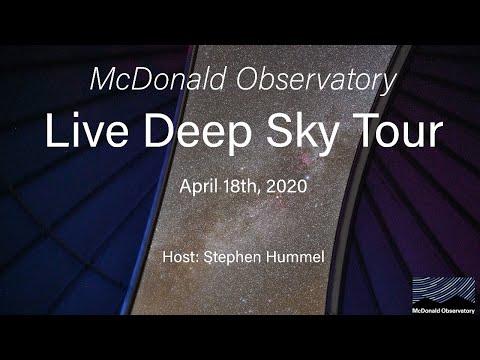 Live Deep Sky Tour April 18th