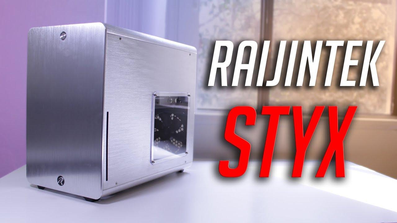 Raijintek Styx mATX Aluminum PC Case Review!